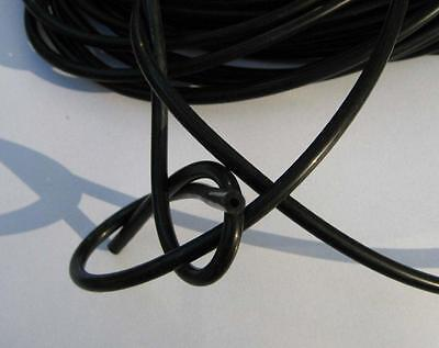 Conductive rubber tube-2 Metres Tens Estim 4mm o/dx1.75mm i/d (0 Clips)