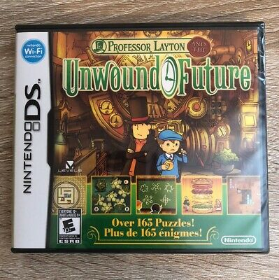 Professor Layton And The Unwound Future - ( Nintendo Ds ) Brand New Sealed !
