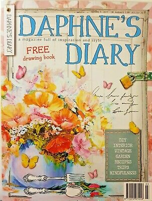 Daphne's Diary Magazine 2019 # 3 = Free Drawing Book = Inspiration = Style