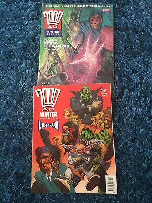 2000ad Winter Specials Numbers 3 And 4