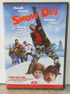 Snow Day (DVD 2000 Special Edition) RARE COMEDY MINT DISC W INSERT