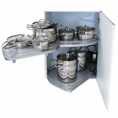 Kessebohmer Le Mans 1000mm LH Kidney Shaped Pull Out Storage System NEW RRP £193