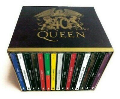 Queen 40th Anniversary 30 CD Collector Box Set Studio Albums New Sealed US Ship