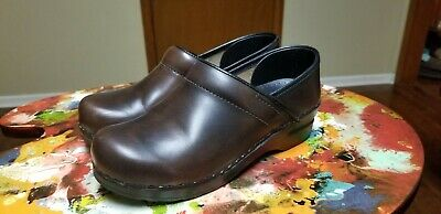 Women's Shoes Ladies Sanita Shoes Size 38 Brown Leather Comfort Clothing, Shoes & Accessories