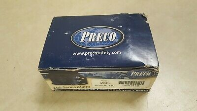 Preco 6891314B Back-Up Alarm 230 97dB 12V