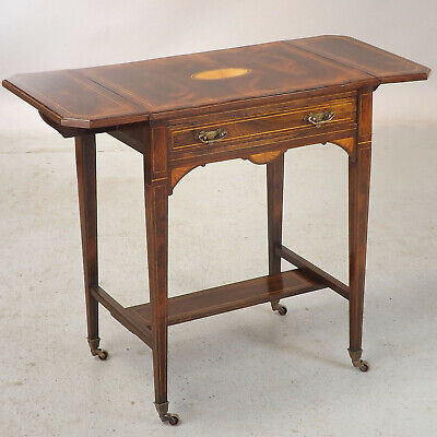 Rosewood Side Table / Sofa Table Antique - C1900 (delivery £40)