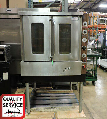 Anets GP0 Commercial Gas Full Size Single Deck Convection Oven - Natural