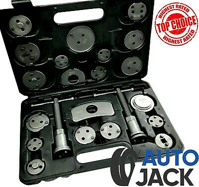 Universal 22Pc Disc Brake Caliper Piston Rewind Car Garage Tool Kit
