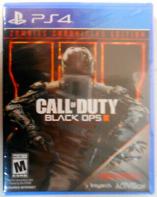 Call of Duty: Black Ops 3 III Zombie Chronicles Edition PS4 FREE SHIPPING