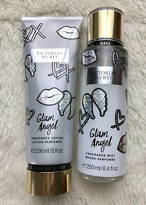 d040aa5117 Set Victorias Secret Classic Glam Angel Fragrance Mist Hand Body Lotion
