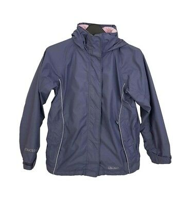 PETER STORM Jacket Age 9-10 Purple 134 - 140cm Raincoat Outdoors Winter Everyday