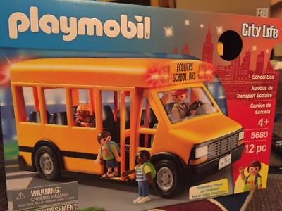 Playmobil 5680 City Life School Bus WORLDWIDE DELIVERY AND CHEAPEST ON EBAY