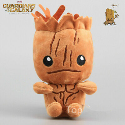 Cute Movie Guardians of the Galaxy Groot Figures Soft Plush Doll Kids Toy Gift