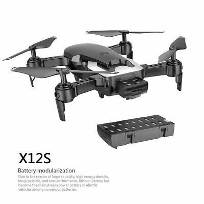 X12S Wide Angle Len HD 2*Camera Quadcopter RC Drone Follow Me Altitude Hold FPV
