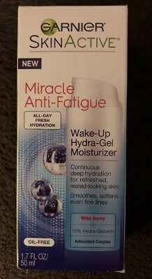 """NEW"" Garnier SkinActive Miracle Anti-Fatigue Wake Up Hydra Gel Moisturizer"