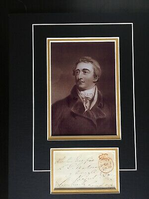 Lord William Bentinck - Governor General Of India - Excellent Signed Display