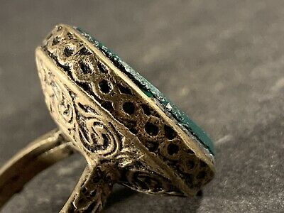 Stunning - Circa 16Th Century - Post Medieval Silver Ring - Very Wearable.