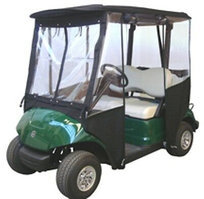 New Golf Cart Universal Deluxe Yamaha G29 Enclosure Cover  Tan Black  Reduced