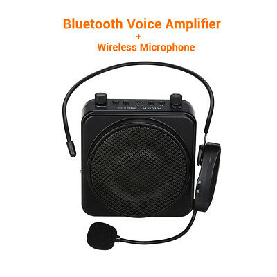 AKER MR2500W BTOOTH Voice Amplifier Booster +headset Microphone For Teacher