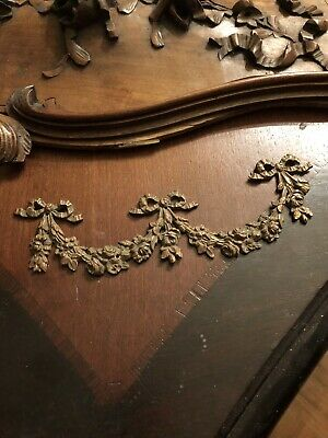 Early French Bronze Ormolu 17th Century Salvaged Bronze Ormolu Floral Bouquet.