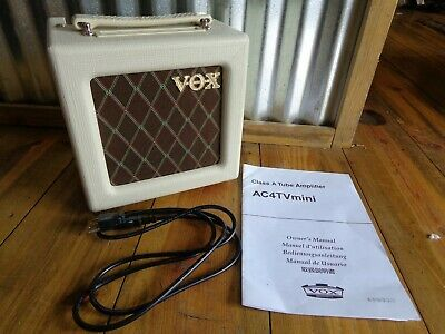 VOX AC4TV CLASS A Tube Amplifier - $143 59 | PicClick