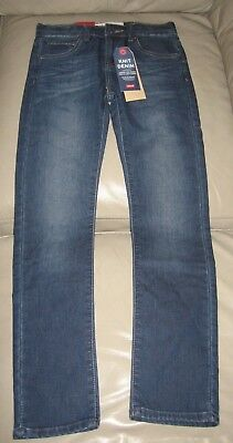 Levi's Boys Blue Wash 510 Skinny Fit Knit Denim Jeans, Size 10 140cm