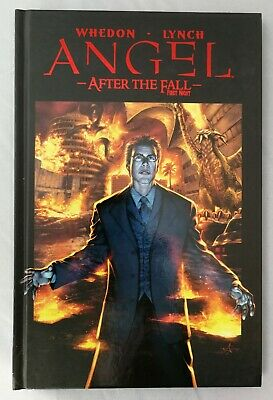 Angel After The Fall Hardcover  Whedon Lynch IDW Comics