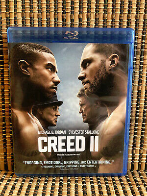 Creed II (1-Disc Blu-ray,2019)Rocky 8.Sylvester Stallone.Michael Jordan.Boxing 2