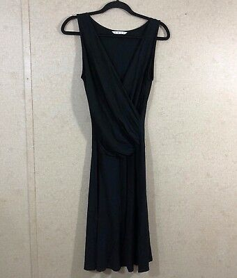 a0e6cfed3f9a CAbi Women's Size S After Five Classic Ruched Sleeveless Dress Black Style # 497