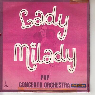 45Trs Vinyl 7''/ French Sp Pop Concerto Orchestra / Lady Milady