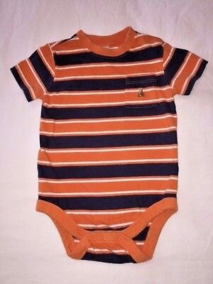 Baby Gap Shirt Bodysuit One Piece striped Shirt 6 12 Months NEW Girl LBFO