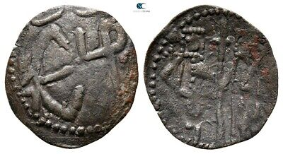Savoca Coins Medieval Bronze Coin 0,90 g / 20 mm @SUI10342