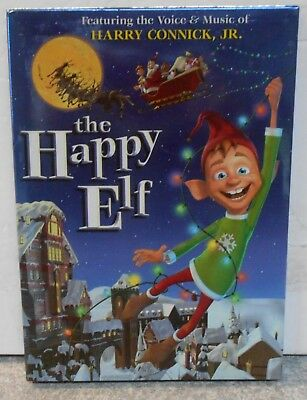 The Happy Elf (DVD, 2005) RARE FAMILY FILM WITH SLIPCOVER MINT DISC