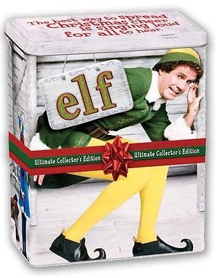 Elf (DVD, 2010, 3-Disc Set, Canadian; Ultimate Collector's Edition) BRAND NEW