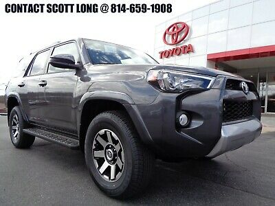 2019 Toyota 4Runner New 2019 TRD Off-Road Edition 4x4 Navigation New 2019 4Runner TRD Off Road 4x4 Navigation Magnetic Gray 4WD Running Boards