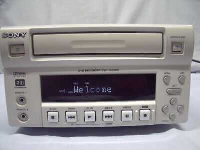 Sony Dvo-1000Md Professional Medical Dvd Recorder ! O1