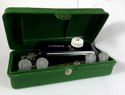 Old Singer Buttonholder - Sewing Machine - With Box - 1948 - Made In Usa