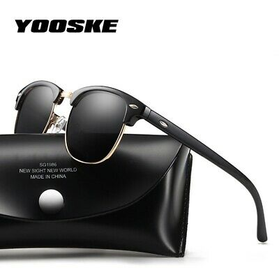 Classic Polarized Sunglasses Men Woman Retro Brand Designer High Quality