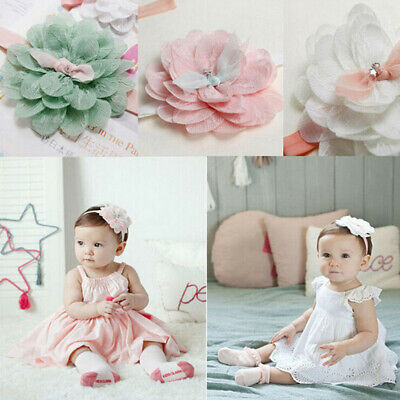 Girls Toddler Elastic Baby Kids Cute Lace Headwear Hair Accessories Headband