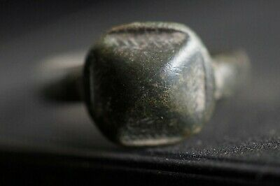 Ancient Viking Bronze Finger Ring. Stunning Norse Relic Artefact, c 950-1000 Ad.
