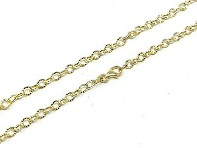 "New 14K Yellow Gold 0.95mm Square Box Chain Necklace 2.90 grams 20/"" Long"