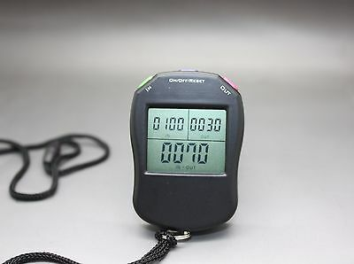 3 in 1 MULTIFUNCTION ElectronicTally Counter Hand Held Clicker