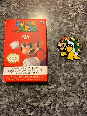 Super Mario Brothers Collecto Pin Series 1 Bowser