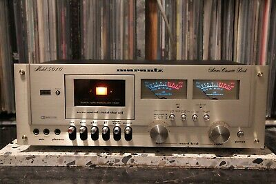 MARANTZ 5010 cassette deck VGC GWO checked, clened, adjusted PAT