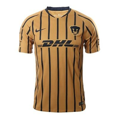 ffa95a156 Pumas Unam Jersey De Visita 2018 - 2019 Nike Color Azul Club Universidad  Mexico