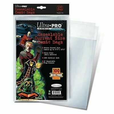 Ultra Pro Current / Modern 2-Mil Resealable Comic Bags - New Packaging