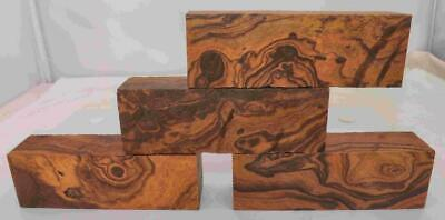 Desert Ironwood 4 turning blanks blocks knife scales 5.2 x 1.7 x 1.2 Group NN A+