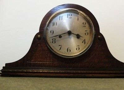 Vintage Mantle  Clock  Napoleon Hat