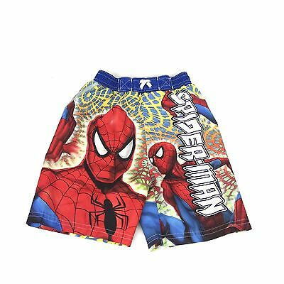 47463674f0 Spider Man Movie Character Boy's Swimwear Swimming Swim Shorts Trunks size  3T