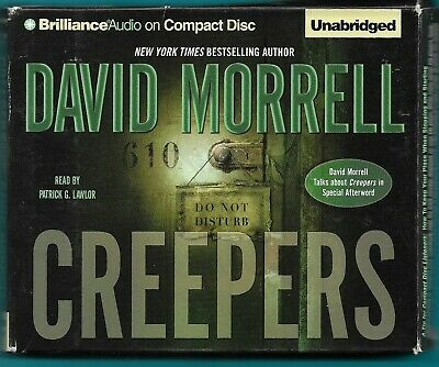 Creepers by David Morrell,  7 CDs, Unabridged Audio Book